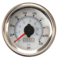 Viair 220 PSI 2in Dual Needle Air Gauge