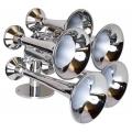 HornBlasters Admiral 5 bell Marine Chrome Horn