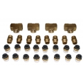 "4 Corner Air Suspension Fitting Kit (1/2"" Fittings)"