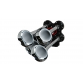 HornBlasters Bullet Chrome Air Horn