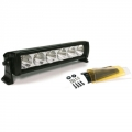 "12"" 10W High-Power 6 LED Flood Beam Light Bar"