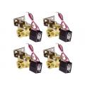 "4 Pack 1/2"" SMC Air Valves"