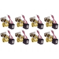 "8 Pack 1/2"" SMC Air Valves"